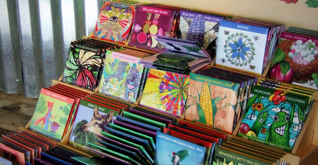 Bloom! Gardens & Nursery -- Get Ready for Spring Gardening - Seeds from the Seed Library
