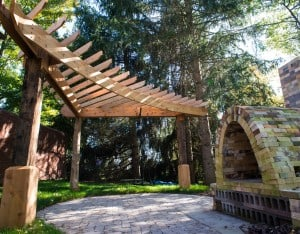 lotus gardenscapes,pergola,woodwork,ann arbor,deck,landscaping,outdoor room